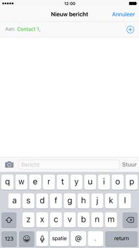 Apple iPhone 6 Plus iOS 9 - MMS - afbeeldingen verzenden - Stap 6