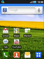 Samsung S5570 Galaxy Mini - Internet - Automatisch instellen - Stap 2