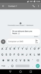 Crosscall Core X3 - Contact, Appels, SMS/MMS - Envoyer un SMS - Étape 9