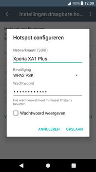 Sony Xperia XA1 Plus (G3421) - WiFi - Mobiele hotspot instellen - Stap 8
