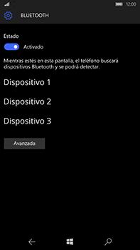 Microsoft Lumia 950 XL - Bluetooth - Conectar dispositivos a través de Bluetooth - Paso 7