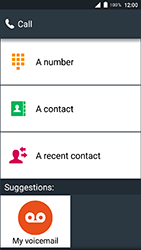 Doro 8035 - Voicemail - Manual configuration - Step 4