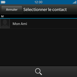 BlackBerry Q10 - Contact, Appels, SMS/MMS - Envoyer un SMS - Étape 6