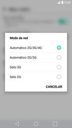 LG G5 - Red - Seleccionar el tipo de red - Paso 6