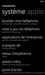 Nokia Lumia 520 - Aller plus loin - Restaurer les paramètres d'usines - Étape 4