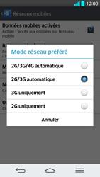 LG G2 - Internet et connexion - Activer la 4G - Étape 7