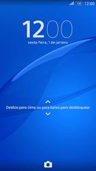 Sony Xperia E4G - Funções básicas - Como reiniciar o aparelho - Etapa 7