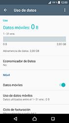 Sony Xperia XA1 - Internet - Ver uso de datos - Paso 5