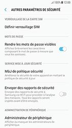 Samsung Galaxy J3 (2017) - Sécuriser votre mobile - Personnaliser le code PIN de votre carte SIM - Étape 6