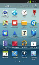 Samsung I9105P Galaxy S II Plus - Internet - hoe te internetten - Stap 2