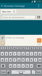Samsung Galaxy S5 - Contact, Appels, SMS/MMS - Envoyer un SMS - Étape 9