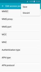 Samsung G920F Galaxy S6 - MMS - Manual configuration - Step 14