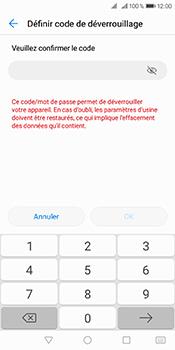 Huawei Y6 (2018) - Sécuriser votre mobile - Activer le code de verrouillage - Étape 9