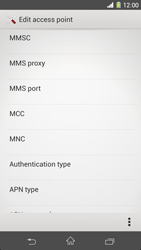 Sony C6903 Xperia Z1 - MMS - Manual configuration - Step 11