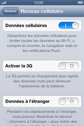 Apple iPhone 4 - iOS 6 - Internet - activer ou désactiver - Étape 5