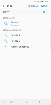 Samsung Galaxy S8 Plus - Android Oreo - Wi-Fi - Accéder au réseau Wi-Fi - Étape 9