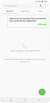 Samsung Galaxy Note9 - Messagerie vocale - Configuration manuelle - Étape 4