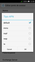 Alcatel Pixi 3 - Internet no telemóvel - Como configurar ligação à internet -  13