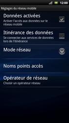 Sony Ericsson Xpéria Arc - Aller plus loin - Désactiver les données à l'étranger - Étape 6