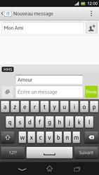 Sony Xpéria SP - Contact, Appels, SMS/MMS - Envoyer un MMS - Étape 12