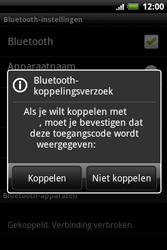 HTC A510e Wildfire S - Bluetooth - headset, carkit verbinding - Stap 8