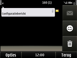 Nokia E6-00 - MMS - Automatisch instellen - Stap 4