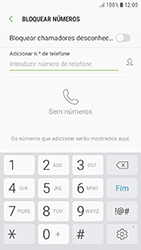 Samsung Galaxy A3 (2016) - Android Nougat - Chamadas - Bloquear chamadas de um número -  7