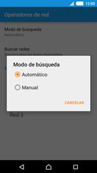 Sony Xperia M4 Aqua - Red - Seleccionar una red - Paso 9