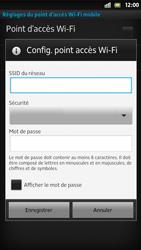Sony Xpéria S - Internet et connexion - Partager votre connexion en Wi-Fi - Étape 8