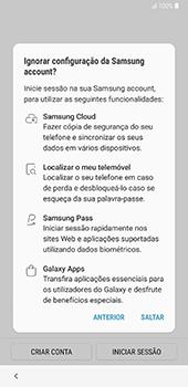 Samsung Galaxy Note 8 - Android Oreo - Primeiros passos - Como ligar o telemóvel pela primeira vez -  19