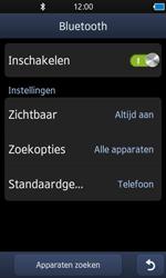 Samsung S8600 Wave 3 - Bluetooth - koppelen met ander apparaat - Stap 8