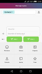 Huawei Y5 II - Mensajería - Escribir y enviar un mensaje multimedia - Paso 10