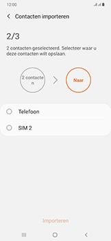 Samsung galaxy-a50-dual-sim-sm-a505fn - Contacten en data - Contacten kopiëren van SIM naar toestel - Stap 11
