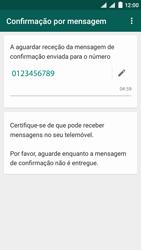 NOS SLIM - Aplicações - Como configurar o WhatsApp -  11