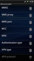 Sony Ericsson Xperia Neo V - Mms - Manual configuration - Step 11