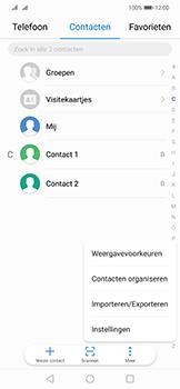 Huawei mate-20-lite-dual-sim-model-sne-lx1 - Contacten en data - Contacten kopiëren van SIM naar toestel - Stap 4