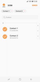 Samsung Galaxy S8 (G950) - Contacten en data - Contacten kopiëren van toestel naar SIM - Stap 11