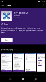 Microsoft Lumia 950 XL - Applications - MyProximus - Step 7