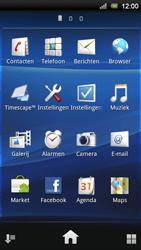 Sony Ericsson Xperia Ray - MMS - afbeeldingen verzenden - Stap 2