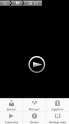 Sony Xpéria S - Photos, vidéos, musique - Créer une vidéo - Étape 11