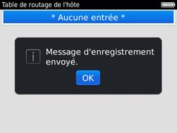 BlackBerry 9780 Bold - Paramètres - reçus par SMS - Étape 8