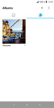 Alcatel 3L - Photos, vidéos, musique - Envoyer une photo via Bluetooth - Étape 4