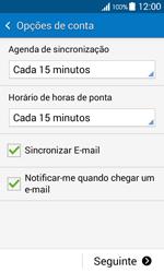 Samsung Galaxy Ace 4 - Email - Configurar a conta de Email -  18