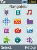 Samsung B2100 Xplorer - Internet - Navigation sur Internet - Étape 2