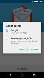Sony Xperia M4 Aqua - E-mail - Configurar Gmail - Paso 7