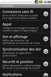 Samsung I5700 Galaxy Spica - Internet - Configuration manuelle - Étape 4