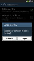 Samsung Galaxy S4 Mini - Internet - Activar o desactivar la conexión de datos - Paso 7
