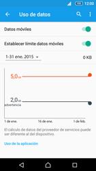 Sony Xperia Z5 - Internet - Ver uso de datos - Paso 10