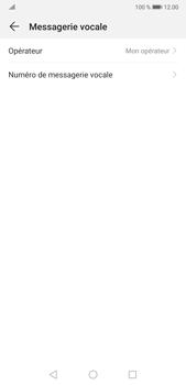 Huawei P20 Pro Android Pie - Messagerie vocale - Configuration manuelle - Étape 7