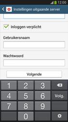 Samsung C105 Galaxy S IV Zoom LTE - E-mail - handmatig instellen - Stap 13